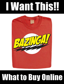 Sheldon Bazinga Big Bang Theory Shirt