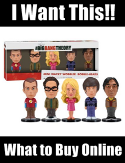 Big Bang Theory Bobblehead Dolls Set